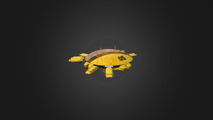 Vaygr Command Station 3D Model
