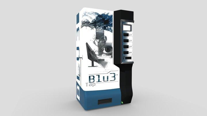 Unusual Vending Machine 3D Model