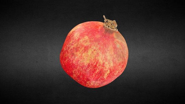 Fruit - Pomegranate #3DScanFruitVeg 3D Model