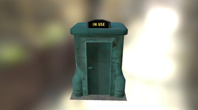 Futurama Suicide Booth 3D Model