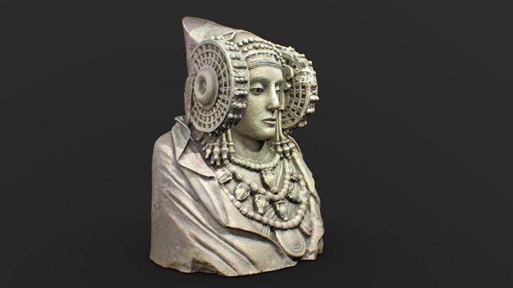 Dama de Elche 3D Model