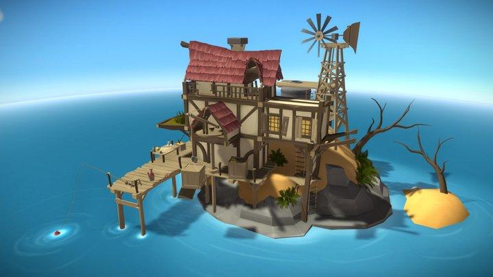 Old Goldmine - Seafarer's Paradise 3D Model