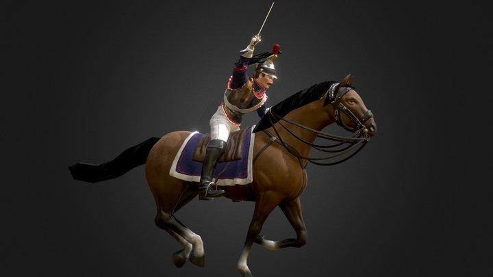 Napoleon Cuirassier 3D Model