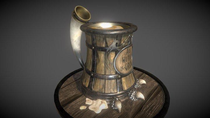 GDC Beer Bust Challenge - Viking Mug 3D Model