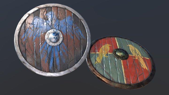 Shields props 3D Model