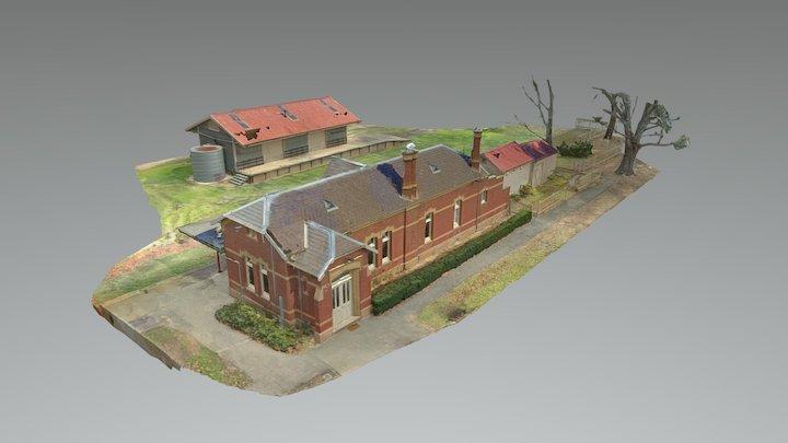 Yea Railway Station (v2) 3D Model