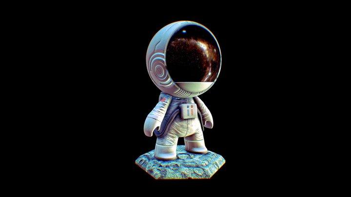 #MeetMAT2 astronauta 3D Model