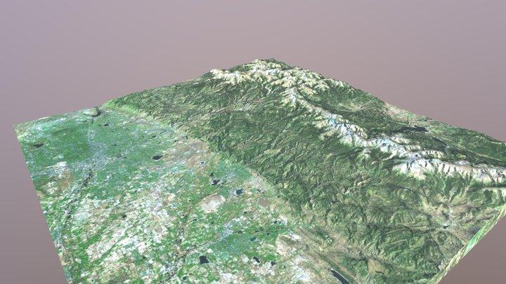 Denver, CO GLB 3D Model