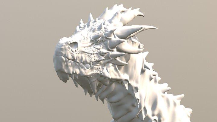 elder dragon (ready for 3D print) free download 3D Model