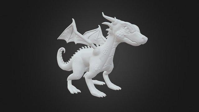 Purple Dragon WIP 3D Model