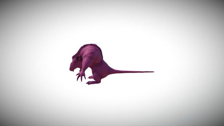The Rat Burglar 3D Model
