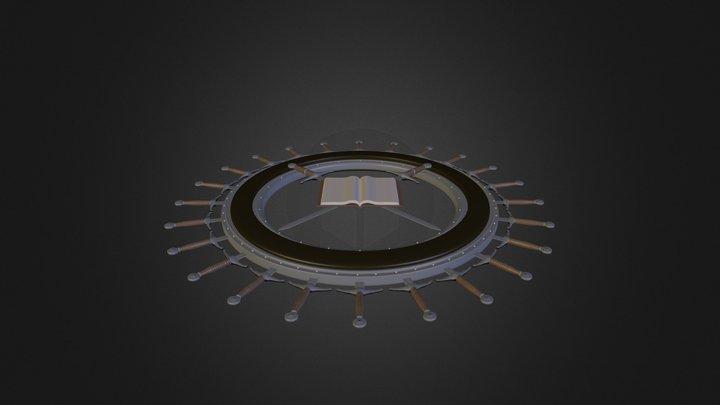 Sword 3D Logo 3D Model