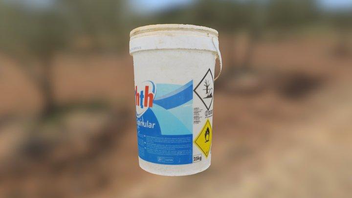 Chlorine Bucket 3D Model