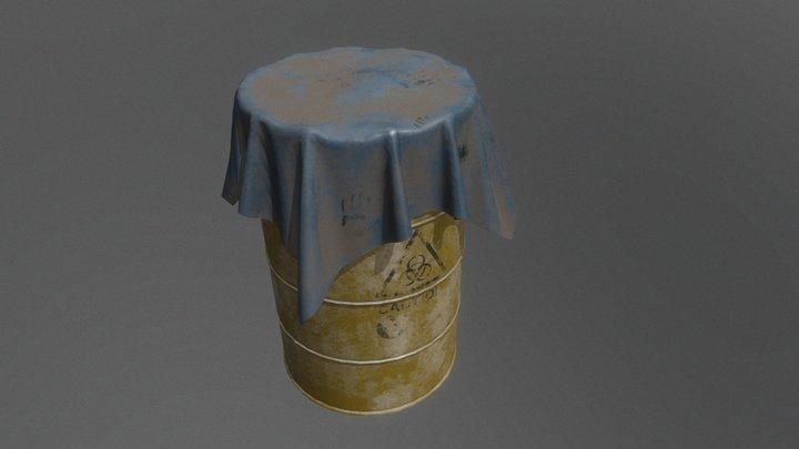 Toxic Barrel 3D Model