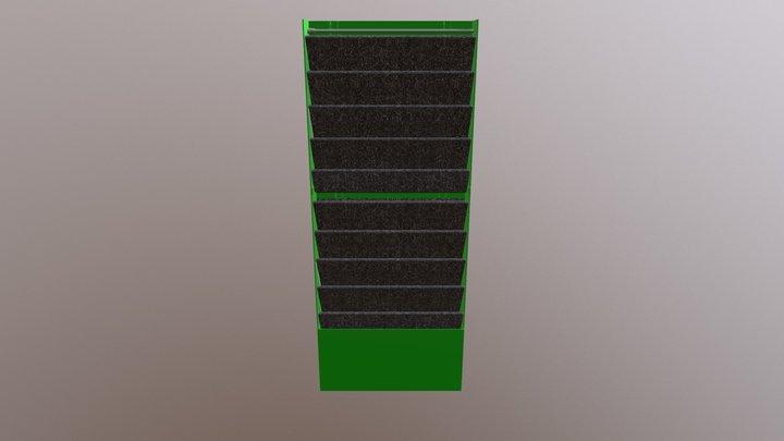 Module beschriftet 3D Model