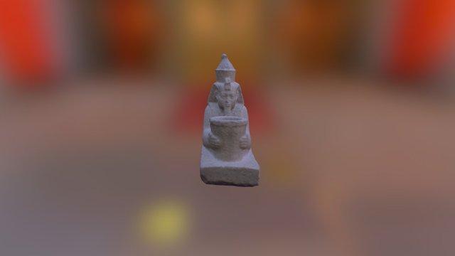 Sphinx of Senkamanisken Kushite (Napatan) 3D Model
