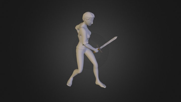 Character Test2 3D Model