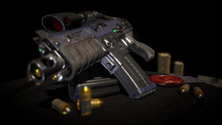 Tactical Bolter 3D Model