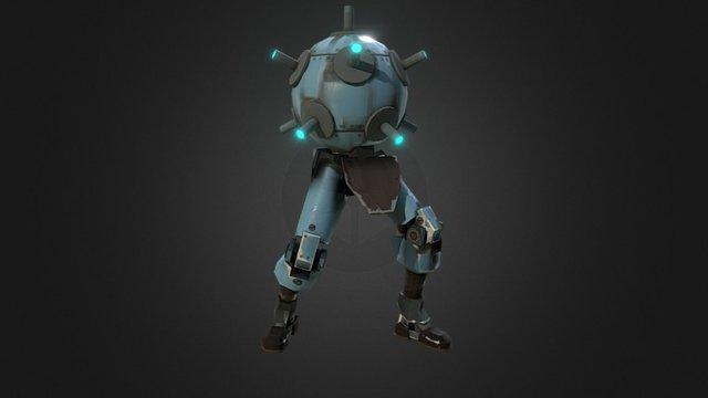 Sentry Buster TF2 3D Model