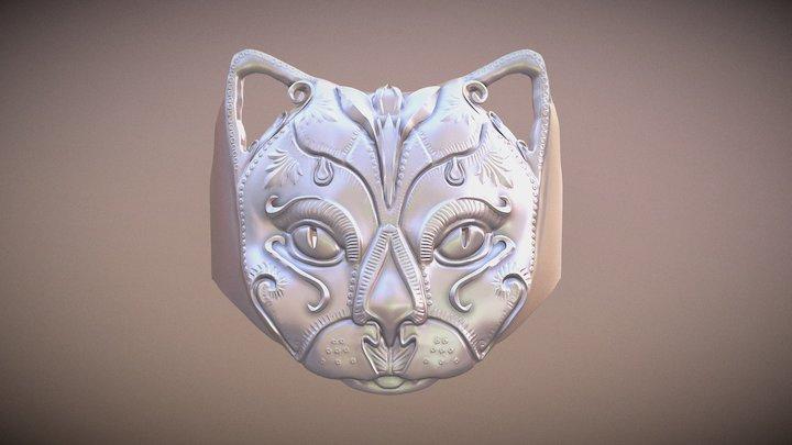 Cat-ring version 9 3D Model