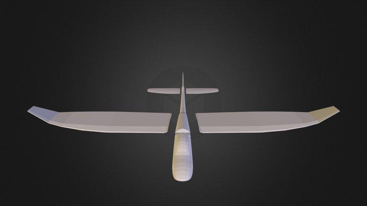 Предварительная модель самолета.blend 3D Model