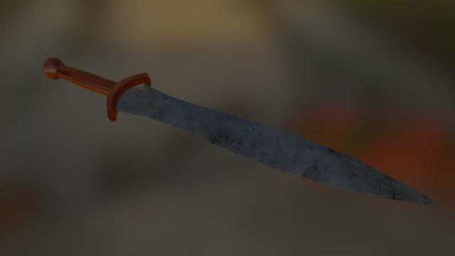 Lakonian Short Sword 3D Model