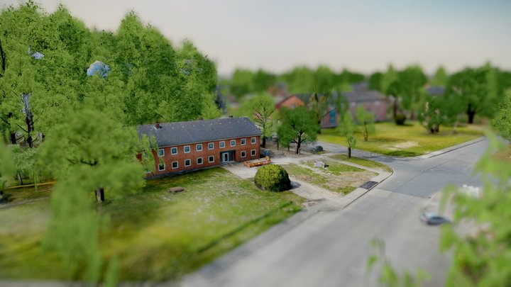LevoPark Bad Segeberg -Business Park-UAV 3D Scan 3D Model