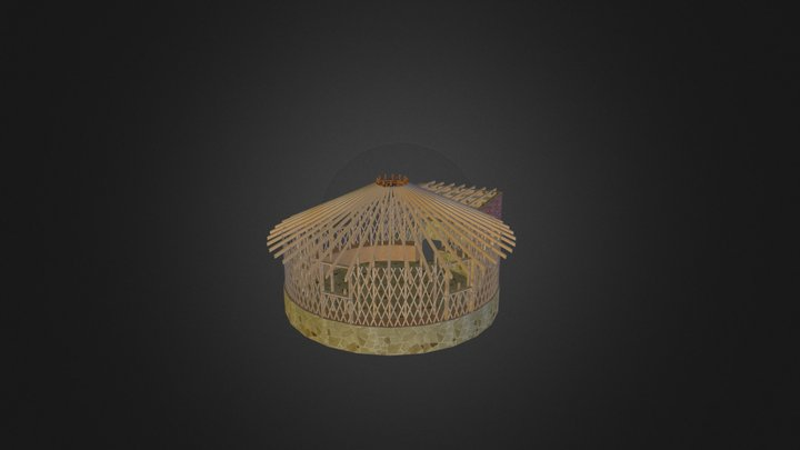 צל מדבר 3D Model