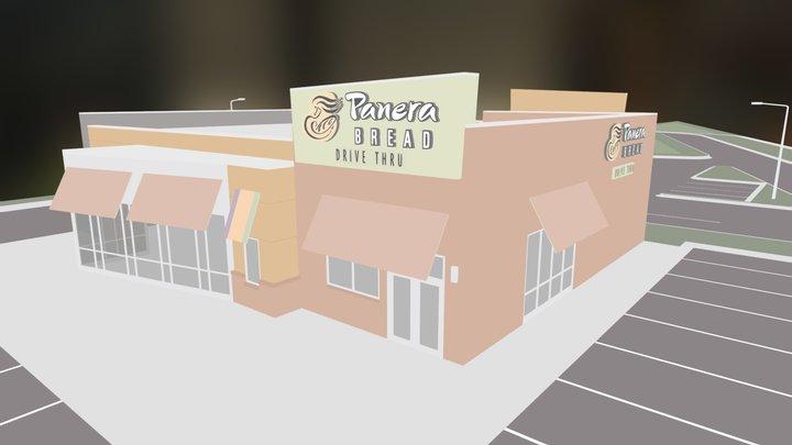 Panera Bread 3D Model