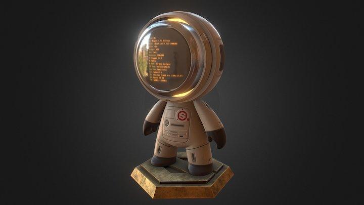 Meet MAT contest - Computer Buddy 3D Model