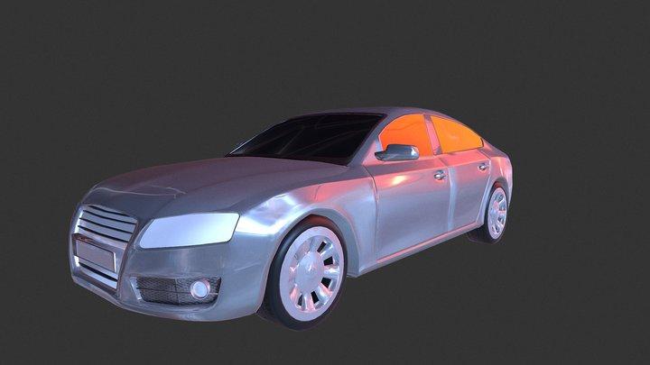 Audi A5 2009 Sportsback 3D Model