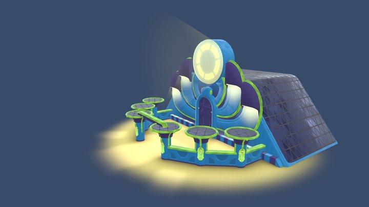 Eqypt Station 3D Model
