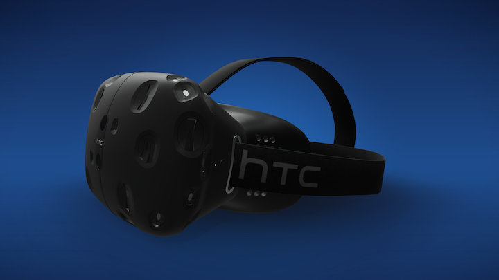 SteamVR HTC Vive 3D Model