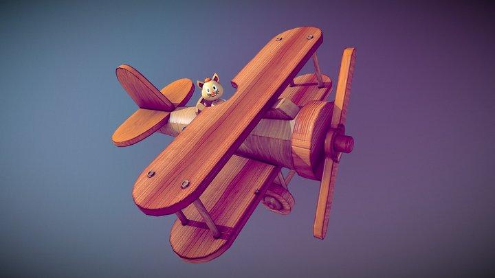 Star Toys - Flying Cat 3D Model