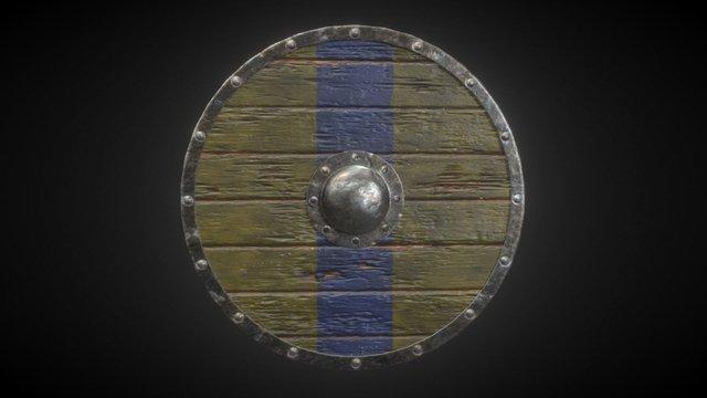 Viking Shield I 3D Model