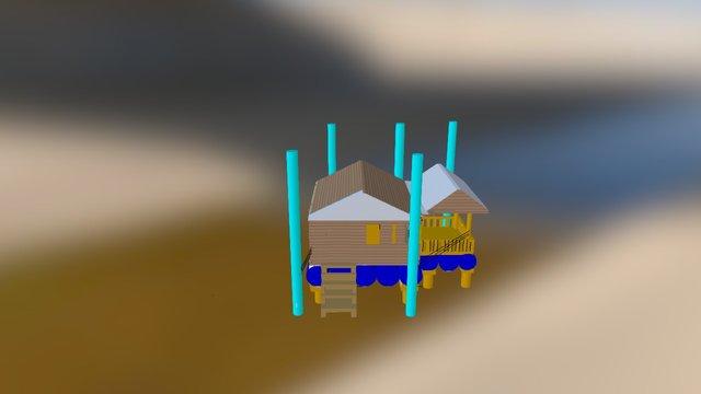 เเก้ กลุ่ม 4 3ds 3D Model