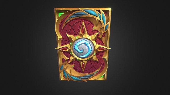 Hearthstone Phoenix card back 3D Model