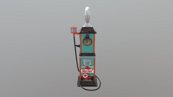 Art Test - Gas Pump 3D Model