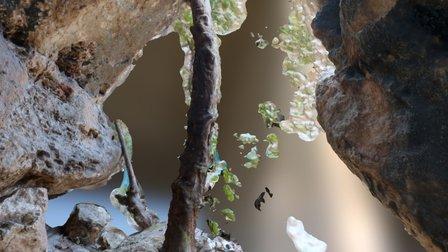 Tinshemet Cave Low Resolution 3D Model