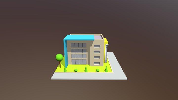 prédio 2 3D Model