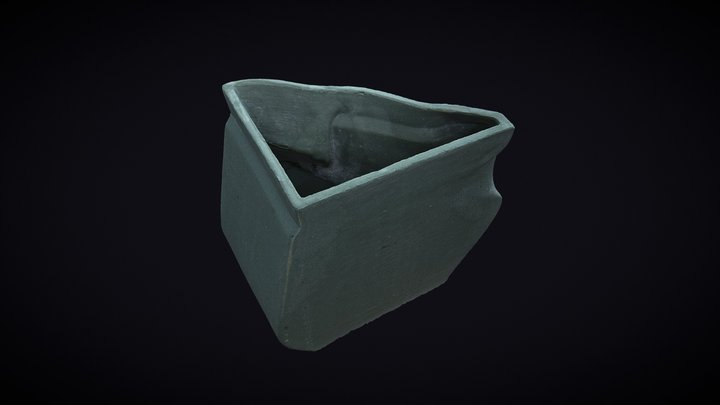 Vase Angle 3D Model