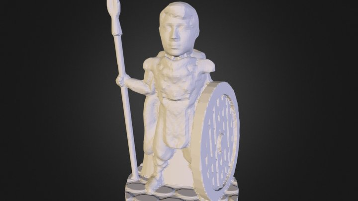 Warden50mm 3D Model