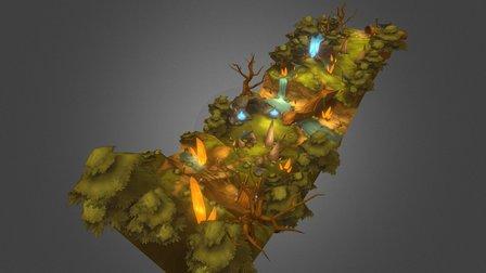 swamp location 3D Model