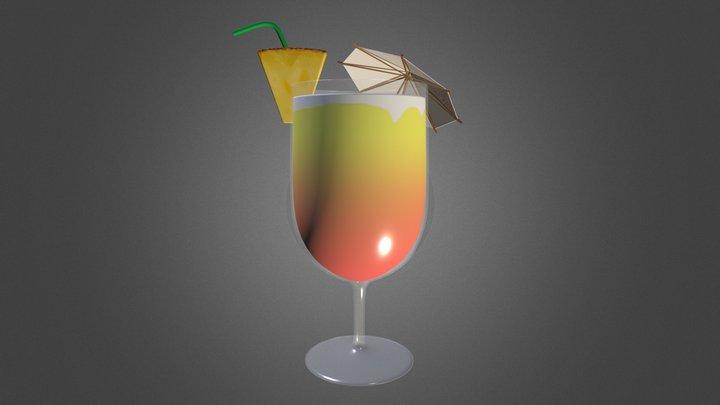 Sunrise Cocktail 3D Model