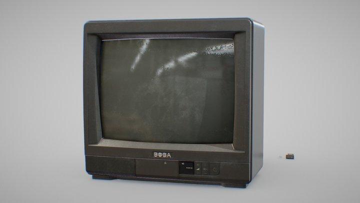 90s Tv 3D Model