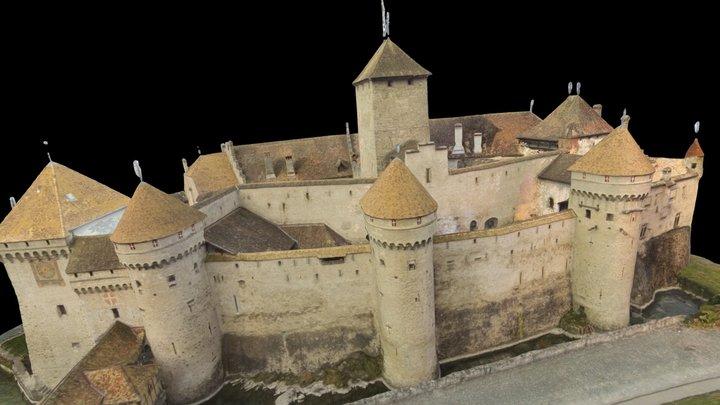 Pix4D - Chillon Castle 3D Model