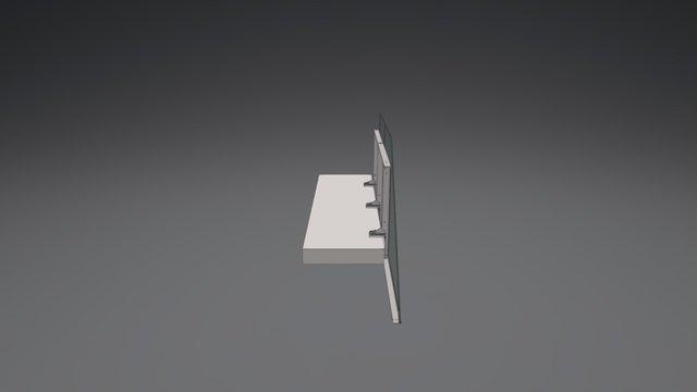 IBC_Cantilevered Balustrade 3D Model