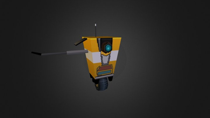 cl4ptp.obj 3D Model