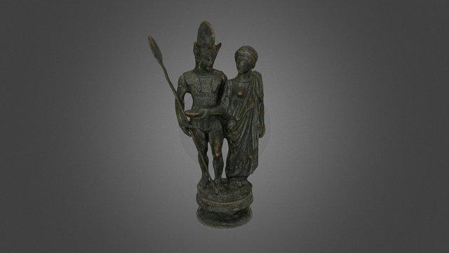 Bronze Cimasa, Marzabotto (Italy) 3D Model