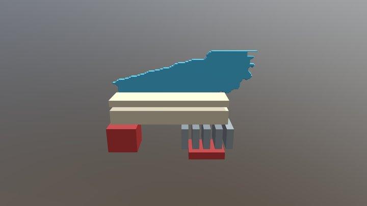 Logo Pancho 008 3D Model